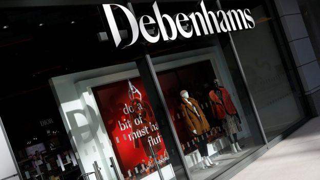 3fec7b5b9 Debenhams makes record annual loss and plans up to 50 store closures ...