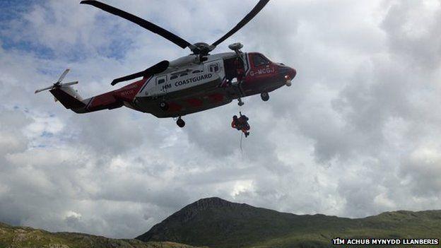 Hofrennydd Rescue 936