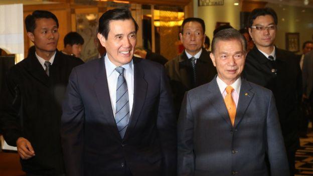 """馬英九因為黨產出售案被調查,也被統派說是""""政治追殺"""""""