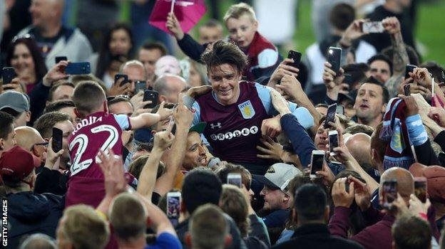 Grealish is a lifelong Villa supporter who was born in Birmingham and joined the club aged six