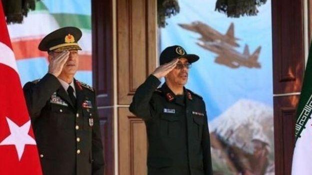 ژنرال حلوصی آکار، رئیس ستاد ارتش ترکیه هم به تهران سفر کرده است