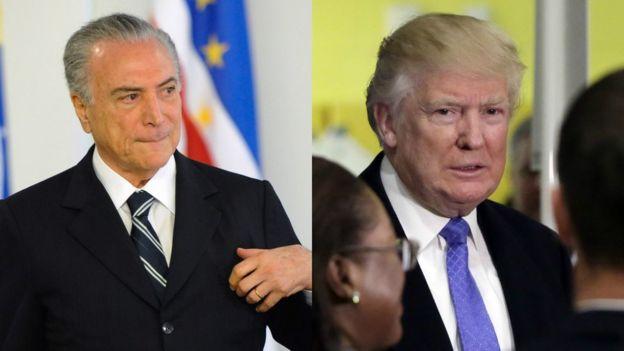 Relação entre Brasil e EUA também vai depender de química entre Temer e Trump