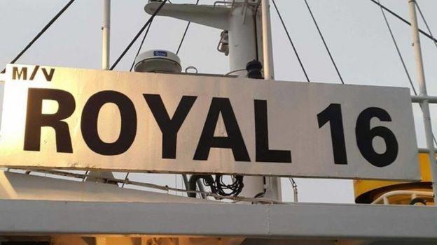 M/V Royal 16