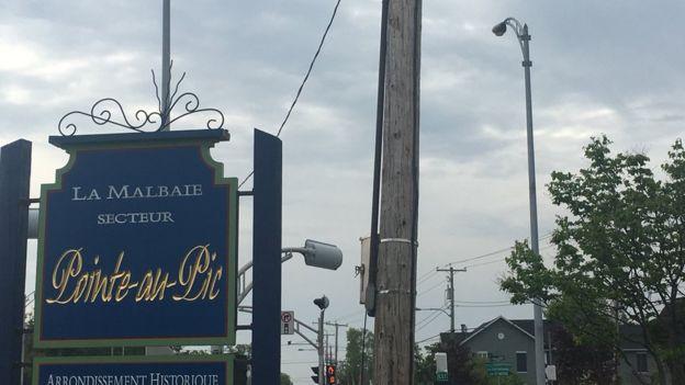 魁北克的旅遊小城拉馬爾拜鎮