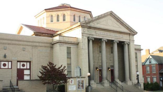 Igreja Metodista de Fairmont, onde ocorreu a primeira celebração do Dia dos Pais