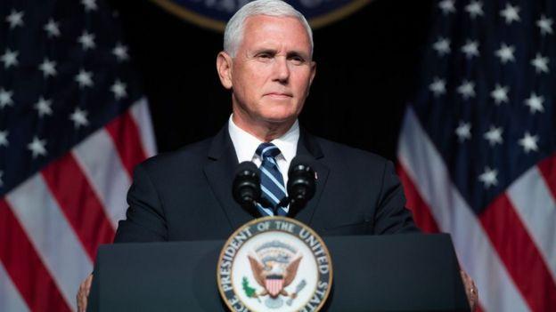 Michael Richard Pence, el vicepresidente de Estados Unidos
