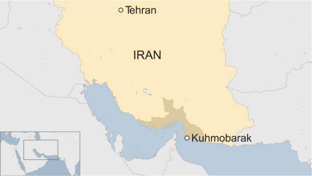 Ramani ya Iran