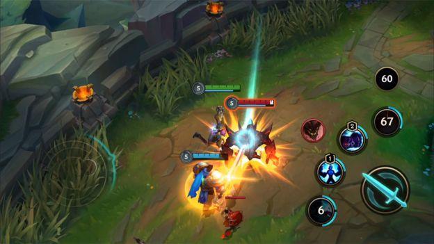 A gameplay screenshot from League of Legends