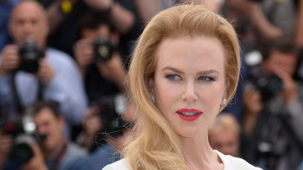 Nicole Kidman at a past Cannes film festival