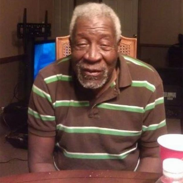 Ohio congresswoman Marcia Fudge posted this image online of Mr Godwin