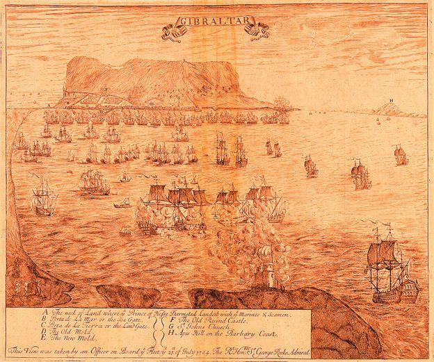 La toma de Gibraltar