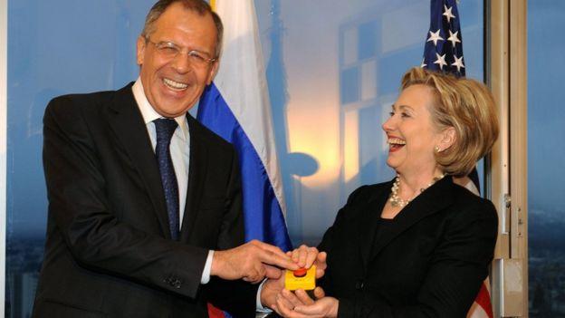 Lavrov y Clinton