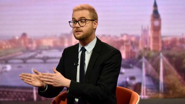 Chris Wylie no The Andrew Marr Show, da BBC