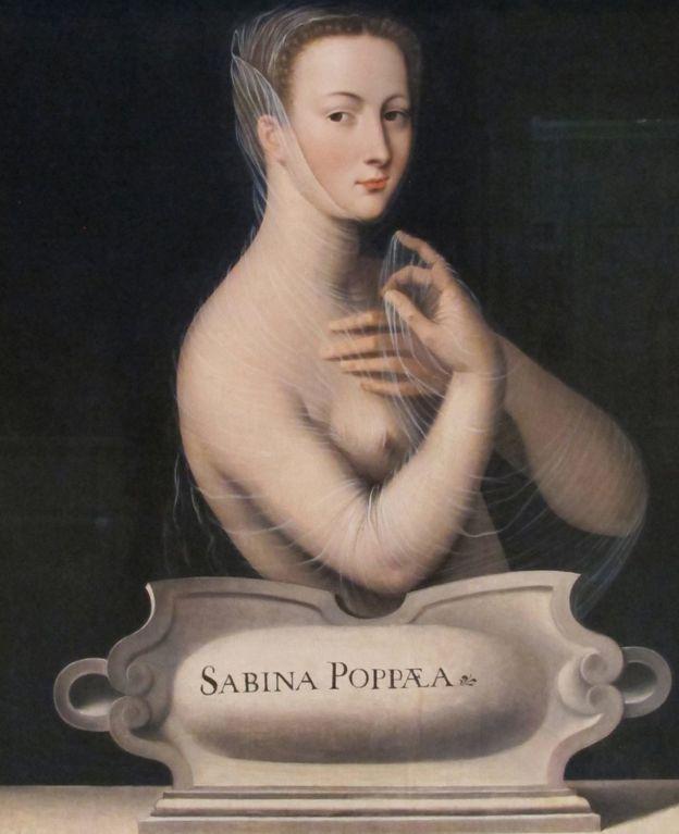 Popea Sabina, en este cuadro encontrado en la colección del Musée d'art et d'histoire