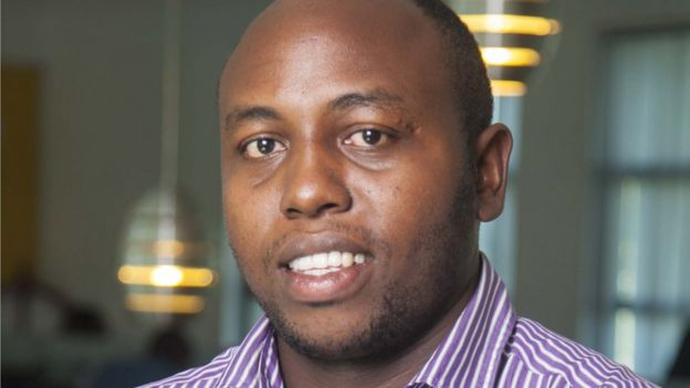 Denis Mwaniki who was Head of Information Security at Cellulant.