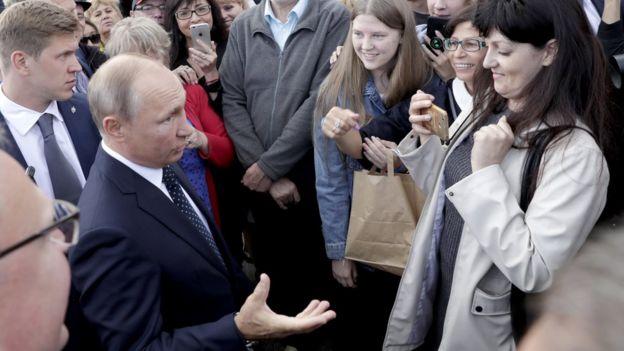 Путин в Омске