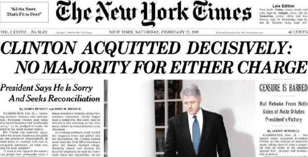 New York Times newspaper cover