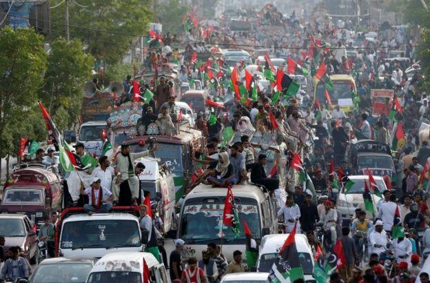 روز جهانی کارگر در کراچی، پاکستان