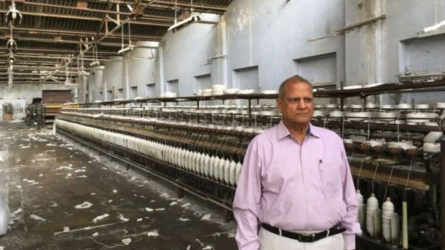 Pawan Garg, le président de l'association indienne des entreprises du textile