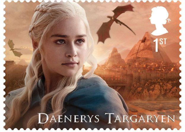 Daenerys Targaryen as played by Emilia Clarke