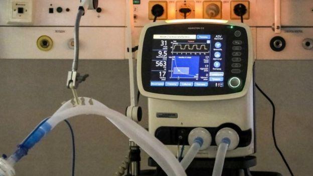 Un respirador artificial