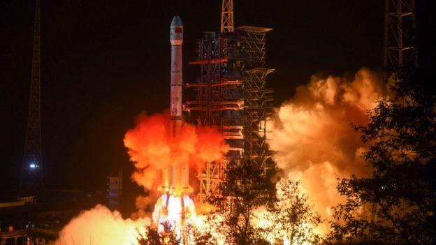 Lanzamiento de la sonda china el 8 de diciembre