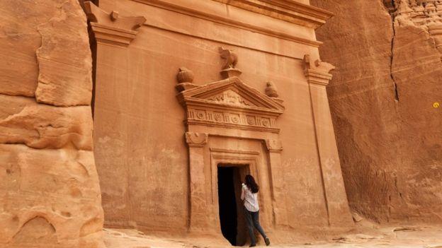 Madain Saleh, a UNESCO World Heritage site