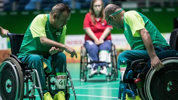 Marcelo e Eliseu na Paralimpíada do Rio