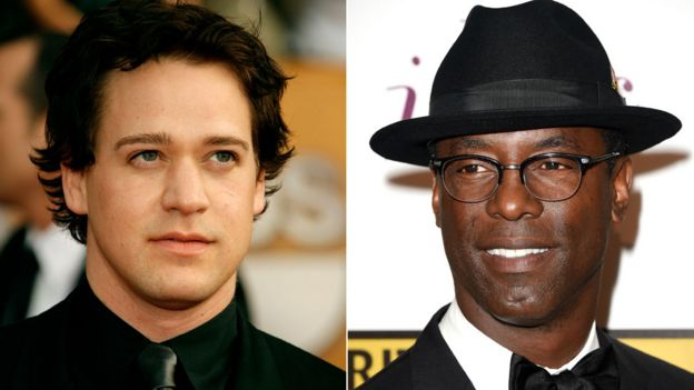 TR Knight and Isaiah Washington
