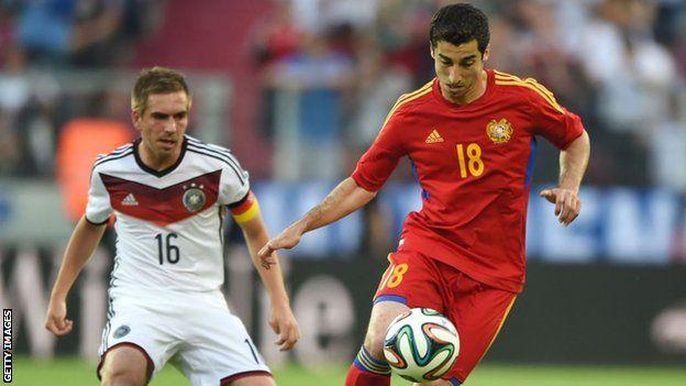 Arsenal's Henrikh Mkhitaryan to miss Europa League final