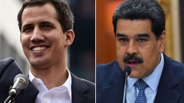 Guaidó y Maduro