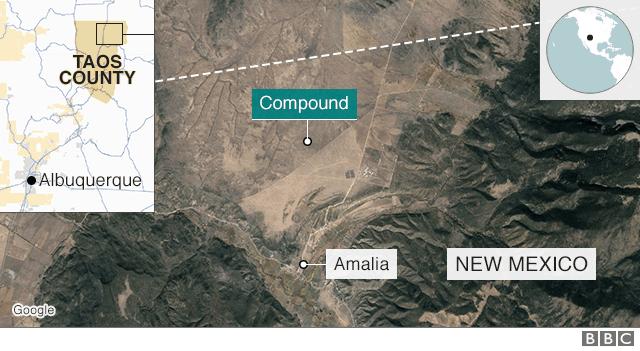 Location of Compound near Amalia