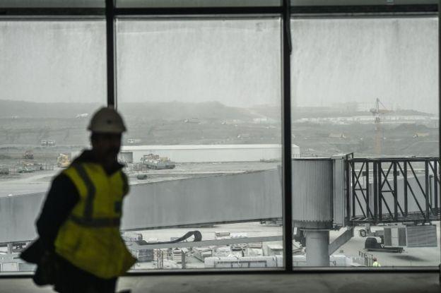 İstanbul'da inşa edilen yeni havaalanı