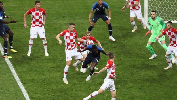 Fransa Hırvatistan maçı