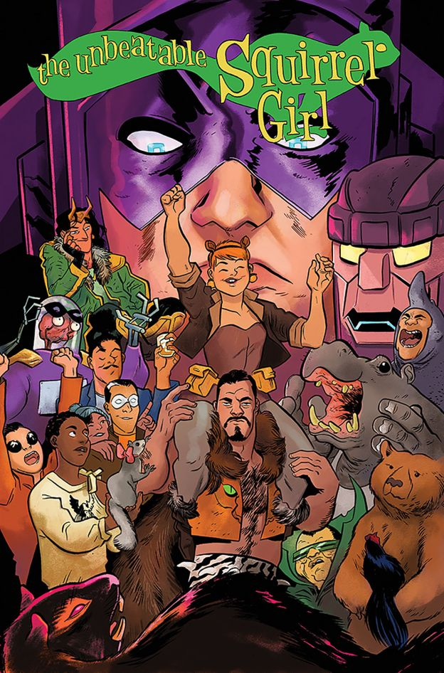 Capa de 'The Unbeatable Squirrel Girl' nº47