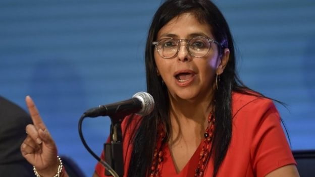 Canciller Delcy Rodríguez
