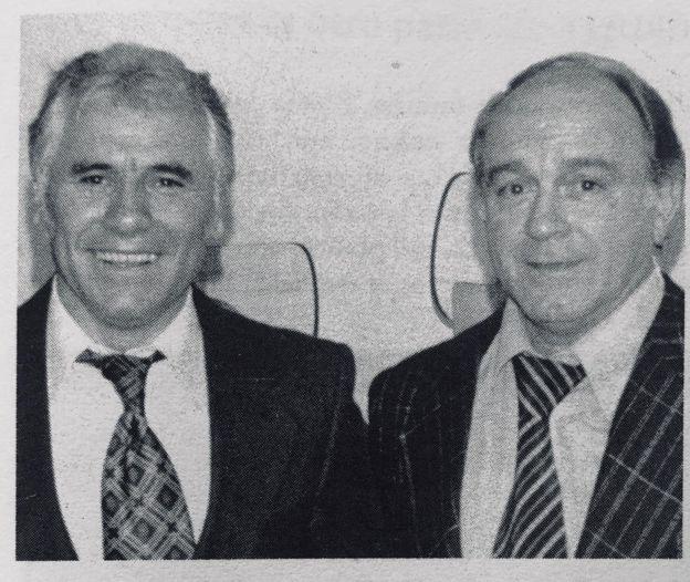 Lázaro Candal y Alfredo Di Stéfano