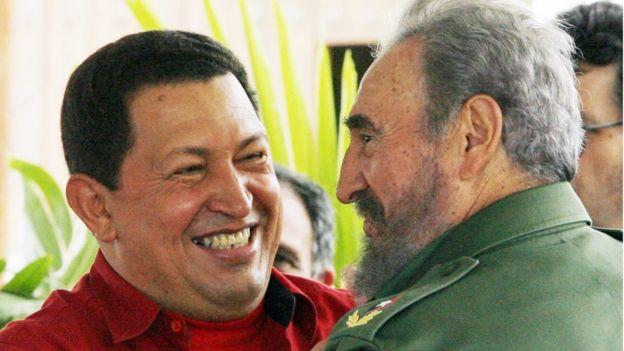 Чавес и Кастро