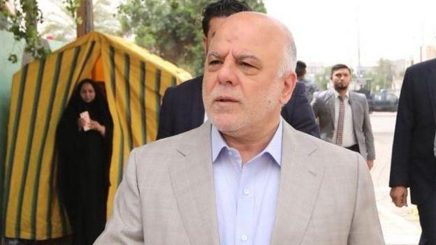 The Iraqi Prime Minister, Haider al Abadi