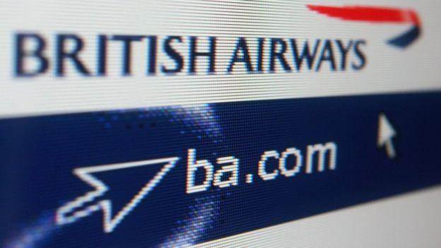 BA website