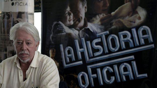 Luis Puenzo en la presentación del film reestrenado