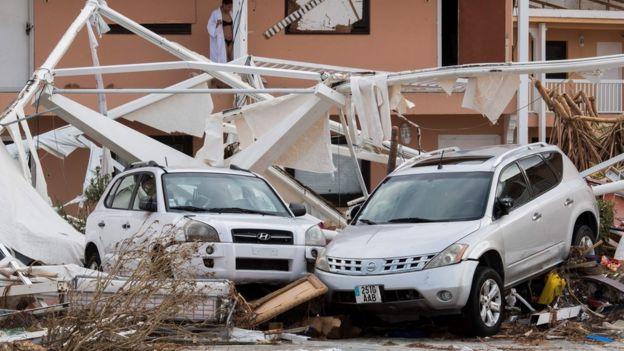 Daños del huracán Irma