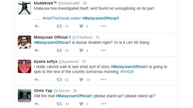 1MDB scandal: 'Will the real Malaysian Official 1 please