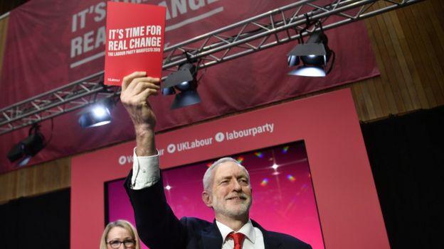 Corbyn en campaña