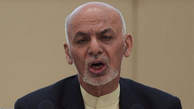 Президент Афганистана Ашраф Гани
