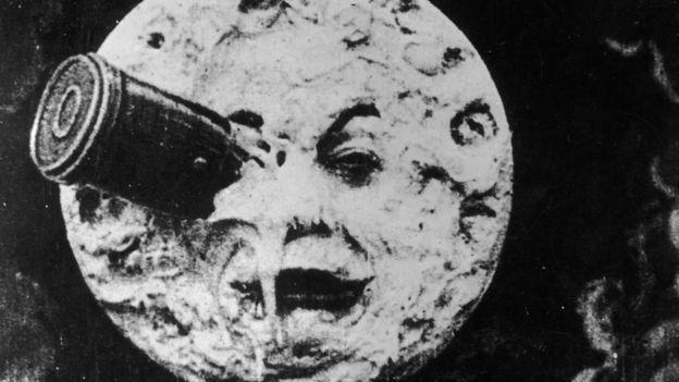 'Viagem à Lua', de Georges Melies, 1902.