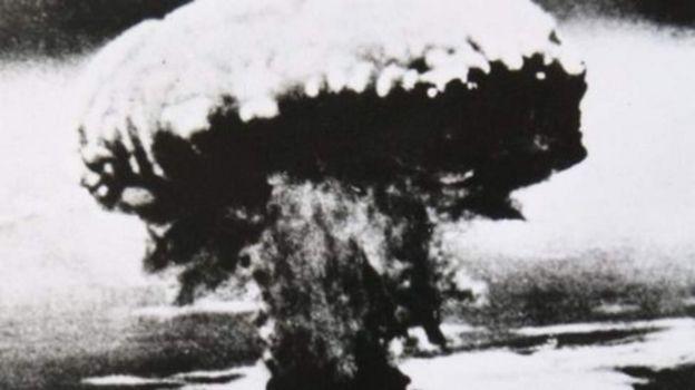 Bomu hilo la Nagasaki liliua watu 70,000 papo hapo.