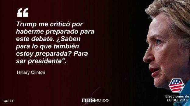 Cita de Hillary Clinton
