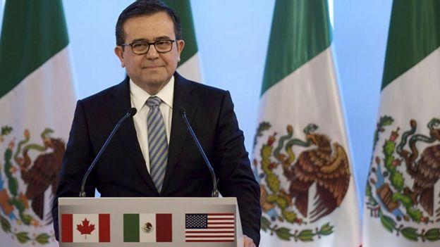 Idelfonso Guajardo, ministro de Economía de México.
