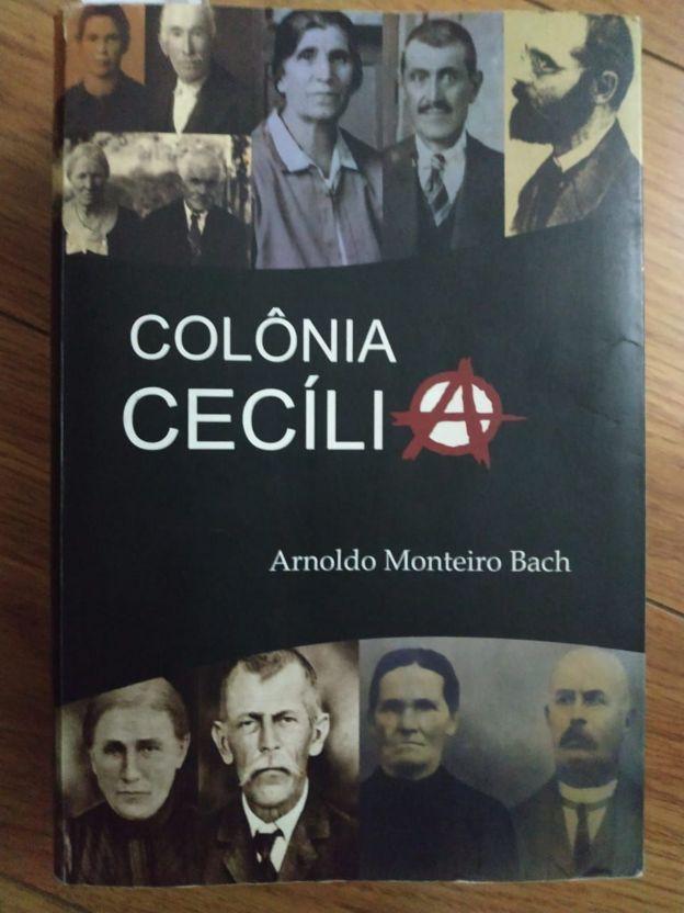 Livro Colônia Cecília, de Arnoldo Monteiro Bach